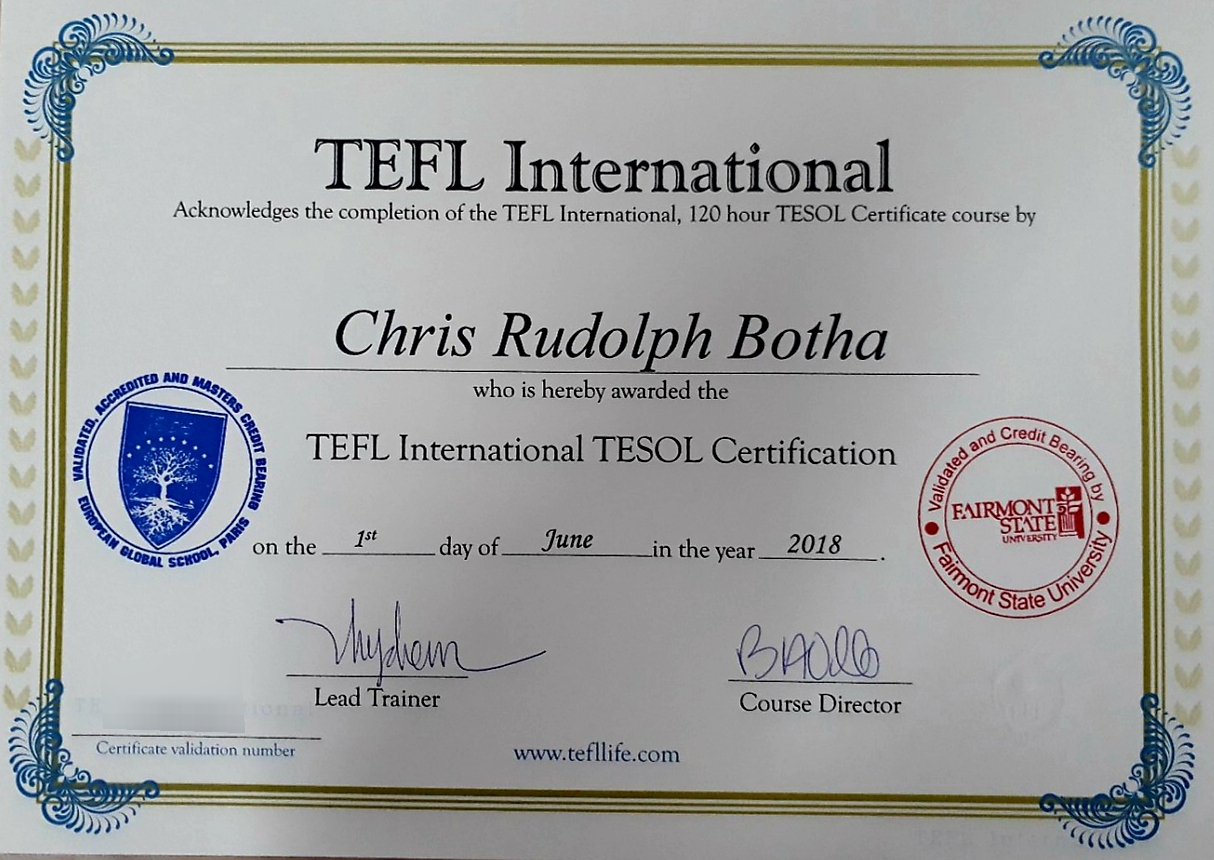 Applying To The Most Professional Tesol Course In Vietnam