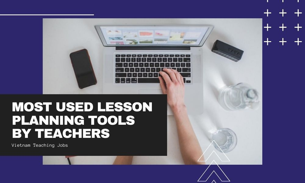 Most used lesson planning tools by teachers