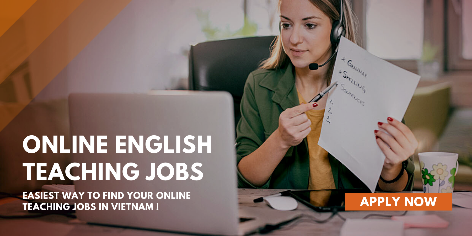 Online English Teaching Jobs In Vietnam