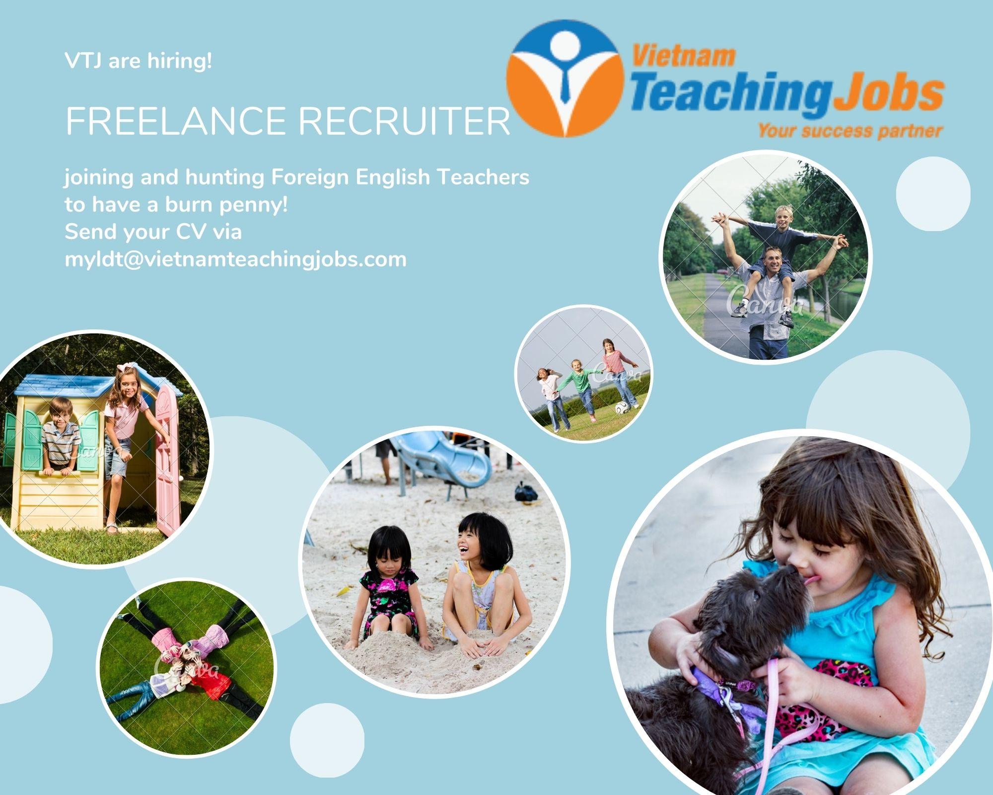 Freelance Foreign Teacher Recruiters
