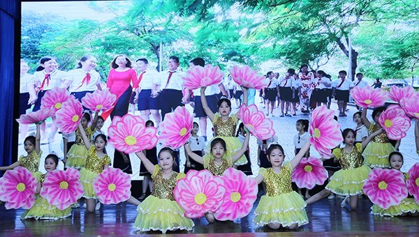 A students' performance on the Teacher's Day