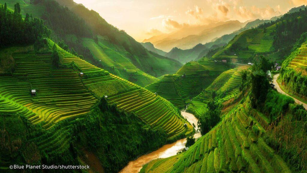 Beautiful nature in Vietnam