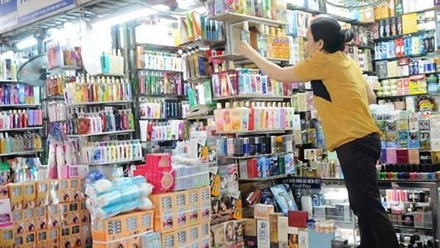 A wide range of toiletries can be purchased in Vietnam
