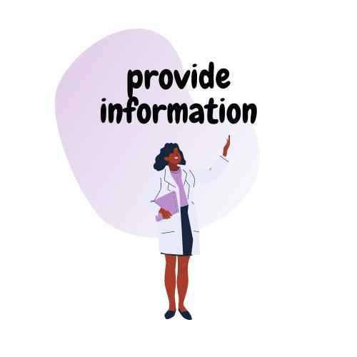 Basic teaching skill 2: provide information