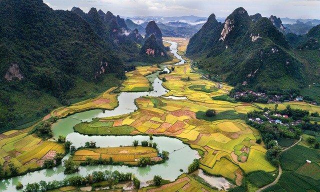 Spectacular sceneries