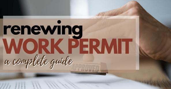 renewing work permit