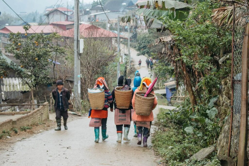 Sapa – the home of various tribes set in the mountains