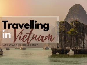 traveIIing in Vietnam