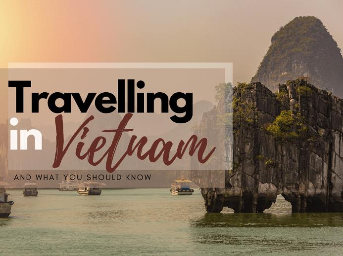 traveIIing in Vietnam