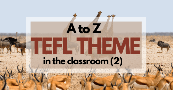 TEFL Theme Compilation Letter I to O