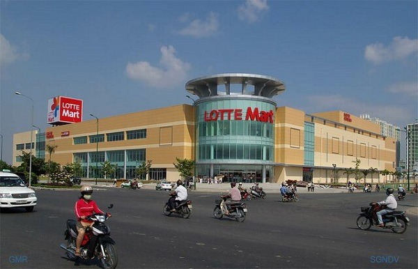 Lotte mart in district 7