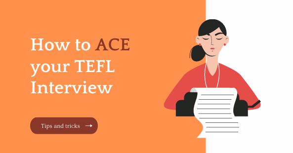 how to ace your TEFL interview