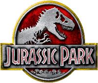 The Jurassic Park game logo